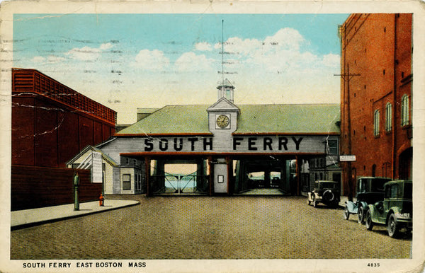 South Ferry Terminal in East Boston