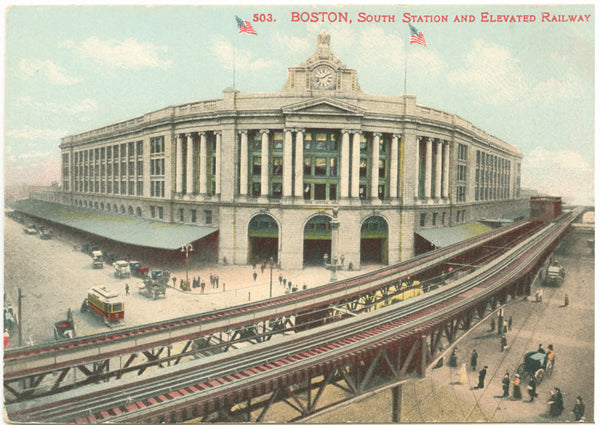 South Station and Atlantic Avenue Elevated