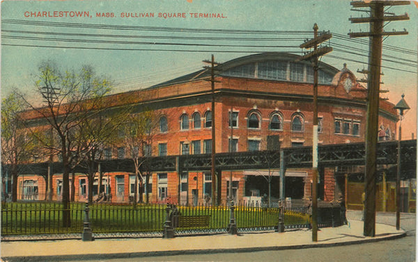 Sullivan Square Terminal showing Elevated Railways