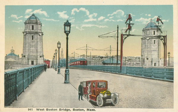 West Boston Bridge with Subway