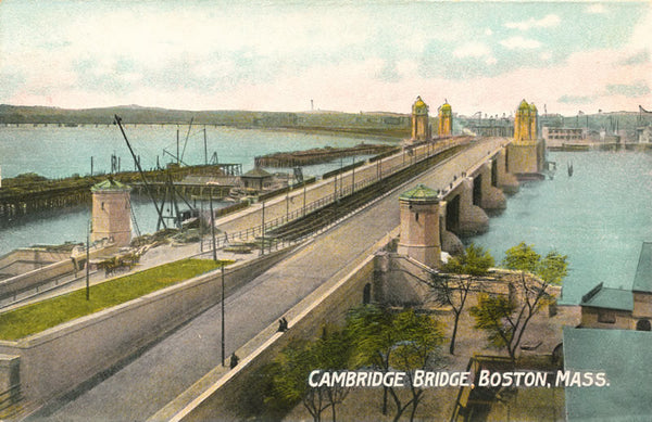 West Boston Bridge between Cambridge and Boston