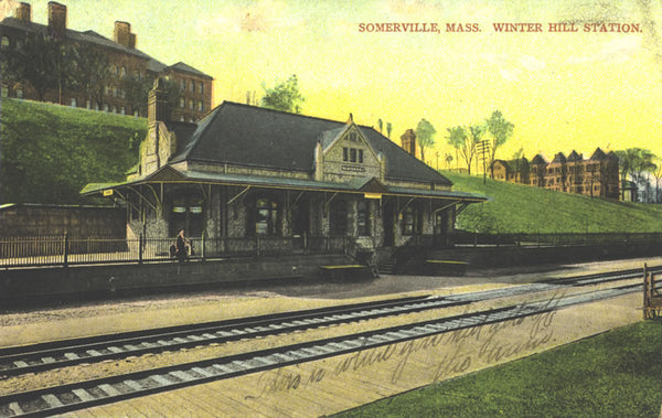Winter Hill Station in Somerville