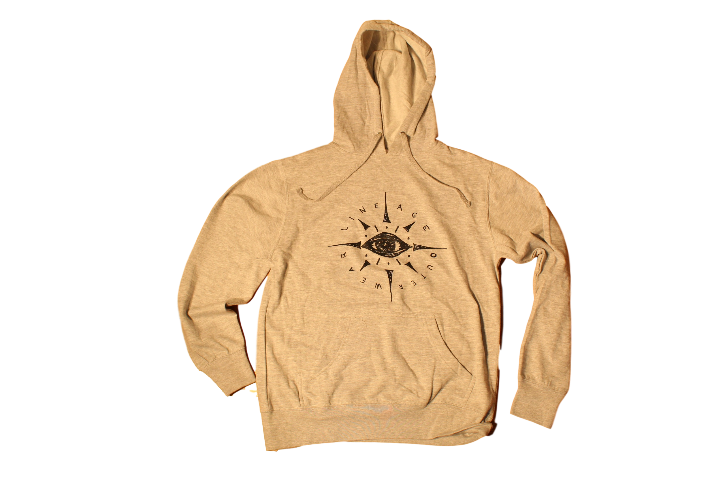 "Light Grey ""eye"" Hoodie"