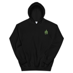 Black Green Forest Hoodie