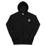 Black White Forest Hoodie