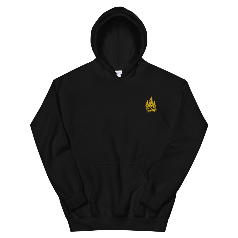 Black Yellow Forest Hoodie