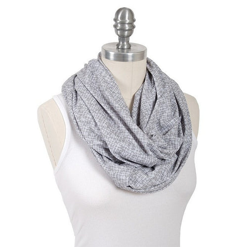 2-in-1 infinity breastfeeding scarf