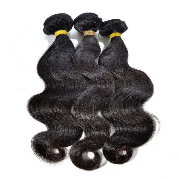 100% Virgin Human Hair- Body Wave