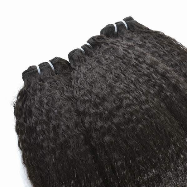 Peruvian Kinky Straight Hair