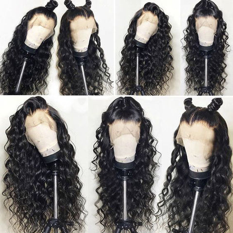 Lace Front Human Hair Wig- Loose Wave