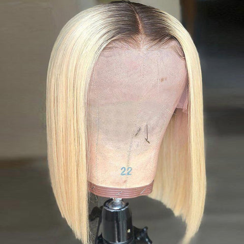 Blonde Lace Front Human