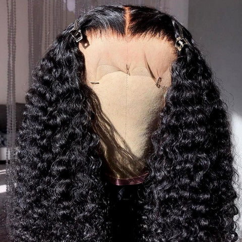 Kinky Curly Lace Front Human Hair Wighair