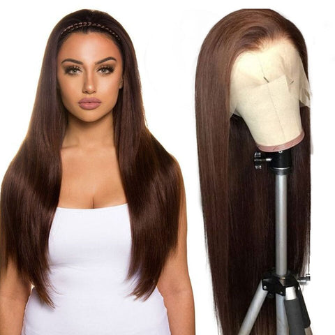 Medium Brown Lace Wig