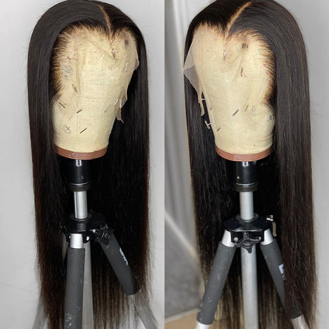 Brazilian Straight Remy Lace Frontal Wig