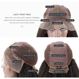 T-Part Lace HD Transparent Lace Wig 26 28 30