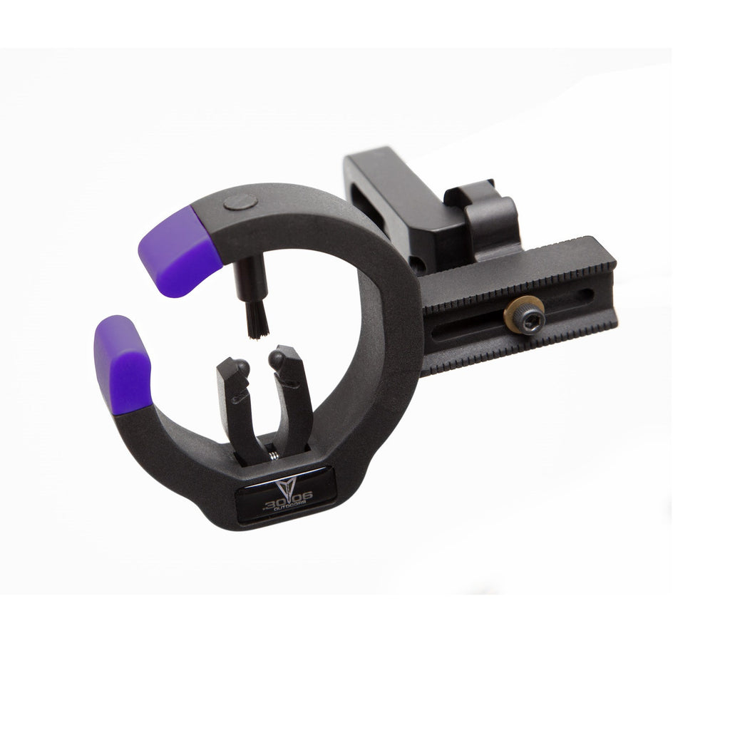 .30-06 The Talon Full Contain Arrow Rest Black/Purple Accent