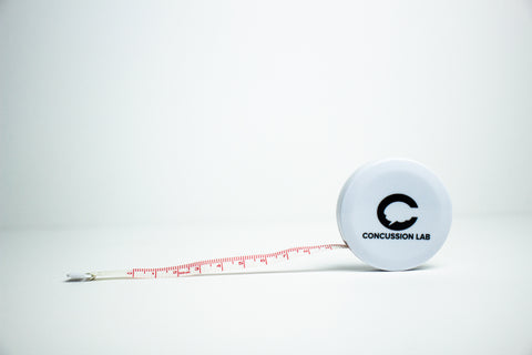 Concussion Lab Tape Measure