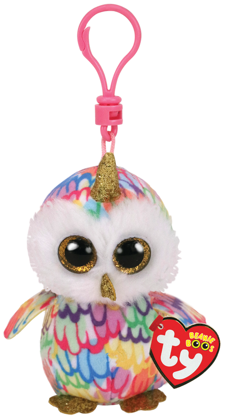 Beanies Boos - Clips - Enchanted Owl with Horn