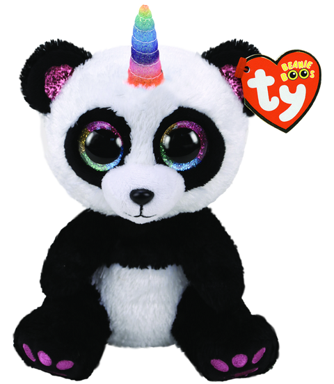 Beanies Boos - Regular - Paris Panda with Horn