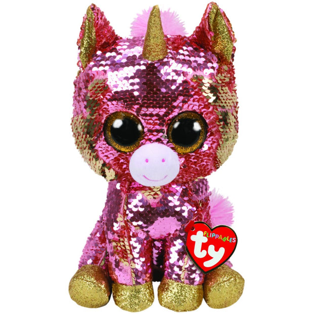 Beanie Boos - Flippables Medium - Sunset Unicorn