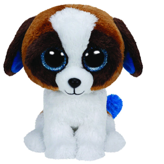 Beanie Boos - Med Duke Brwn/White Dog
