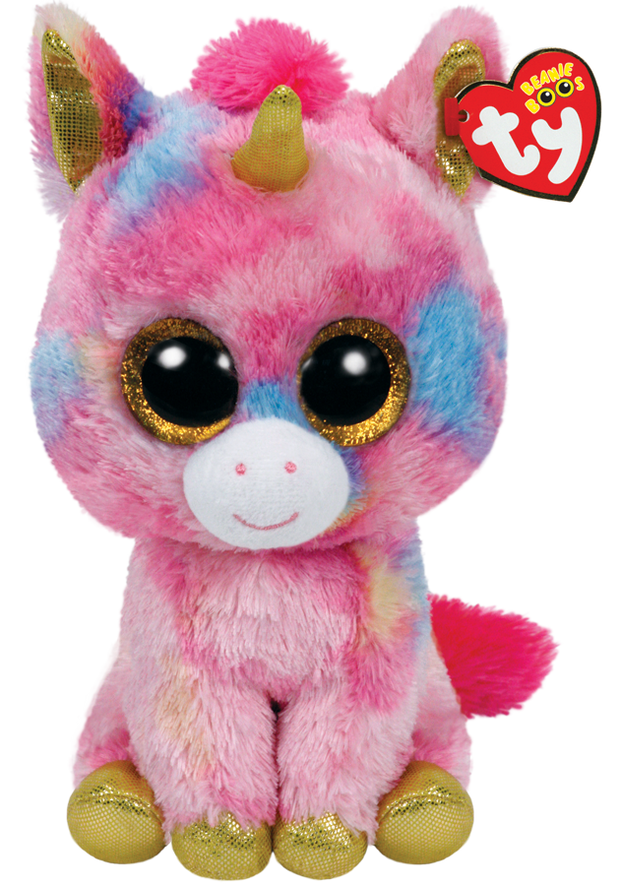 Beanie Boos - Medium - Fantasia Unicorn