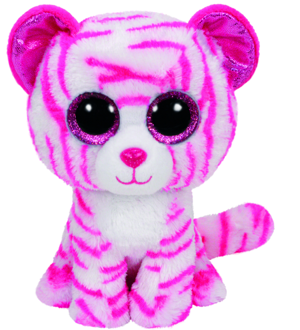 Beanie Boos Large Asia White Tiger