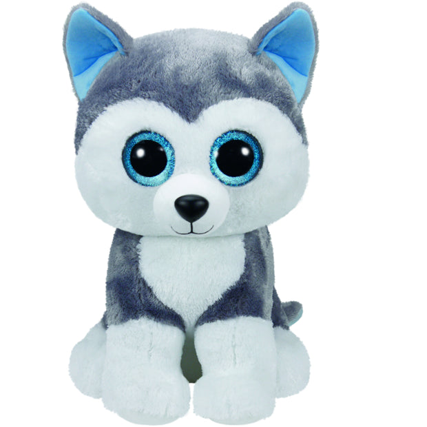 Beanie Boos Large Slush Grey Dog
