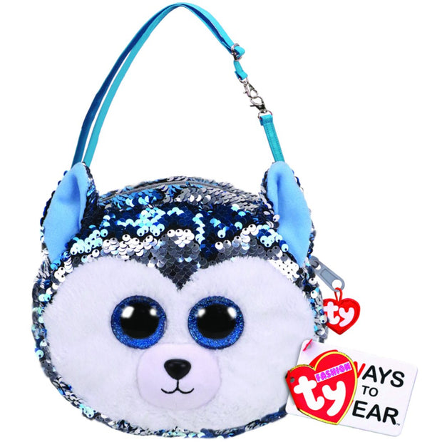 Beanie Boos - Fashion Sequin Purse - Slush Husky
