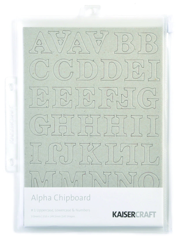Chipboard Alpha 1