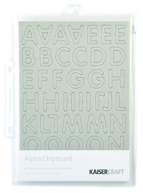 Chipboard Alpha 3