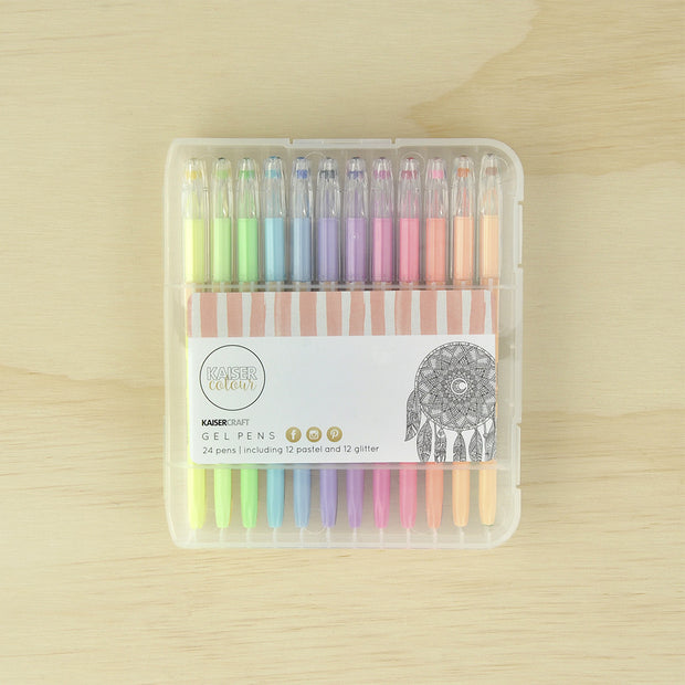 Kaiser Colour - Gel Pens 24pk