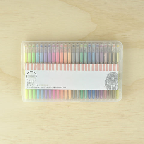 Kaiser Colour - Gel Pens 48pk
