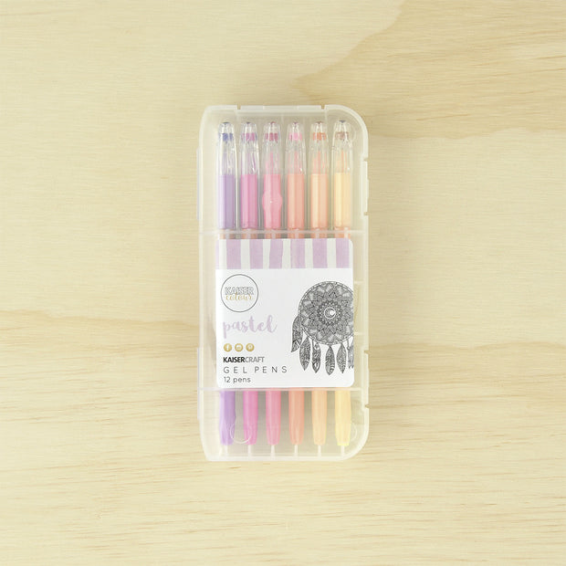 Kaiser Colour - Pastel Gel Pens 12pk