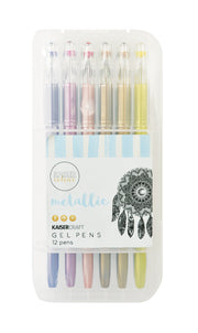 Kaisercolour - Metallic Gel Pens 12pk