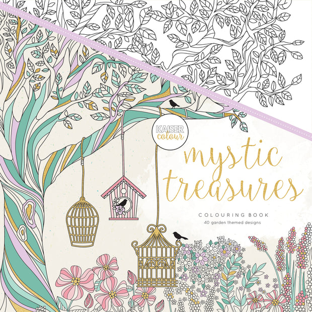 Colouring Book - Mystic Treasures