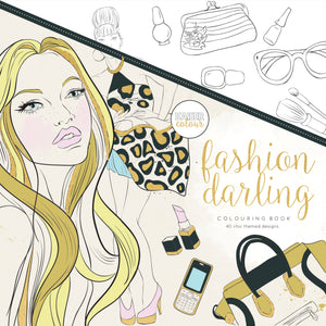 Kaiser Colour - Fashion Darling Colouring Book