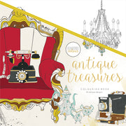 Colouring Book - Antique Treasures