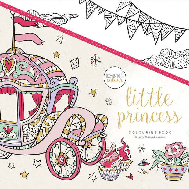 Colouring Book - Little Princess