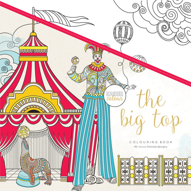 Colouring Book - The Big Top