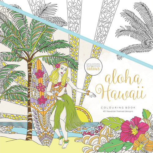 Kaiser Colour - Aloha Hawaii Colouring Book