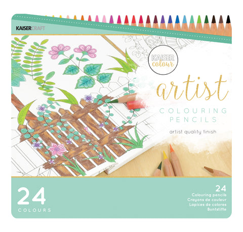 Kaisercolour - Coloured Pencils 24pk