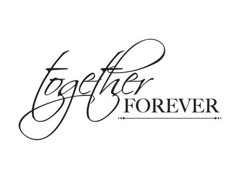 Mini Clear Stamp - Together Forever