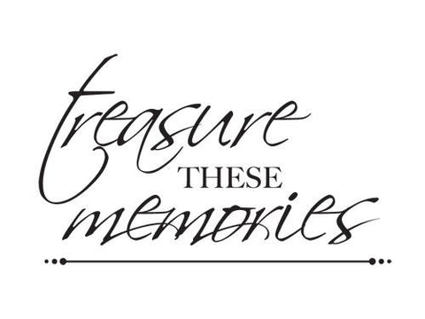 Mini Clear Stamp - Treasured Memories