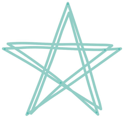 Decorative Die - Scribble Star