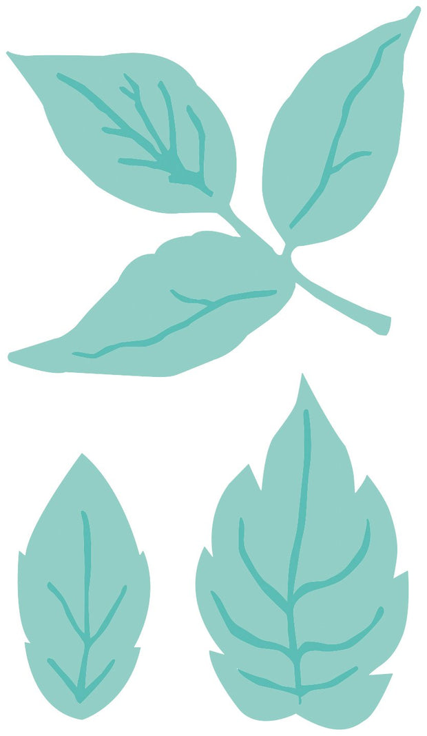 Decorative Die - Leaves