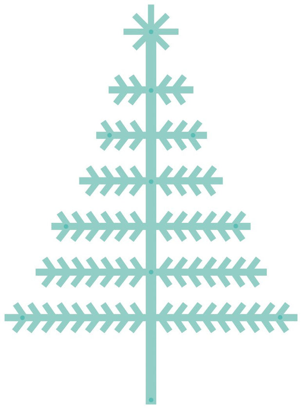 Decorative Die - Scandi Christmas Tree