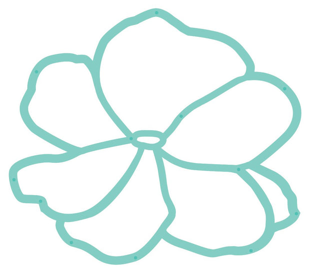 Decorative Die - Outline Flower