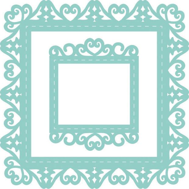 Decorative Die - Square Vintage Frame