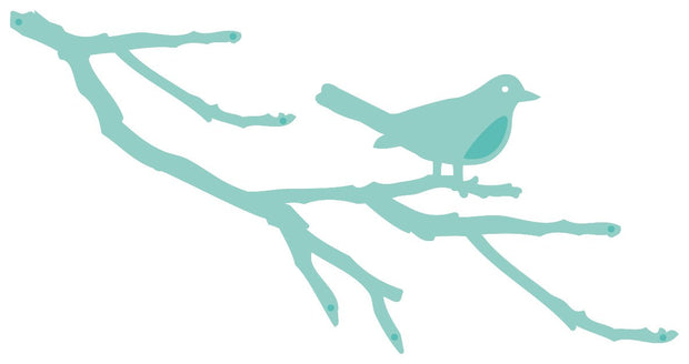 Decorative Die - Bird Branch